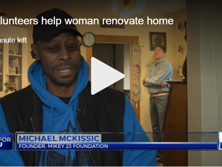 Volunteers help 87-year-old Lansing woman renovate home