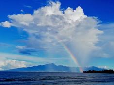 Arc en ciel, Tahiti