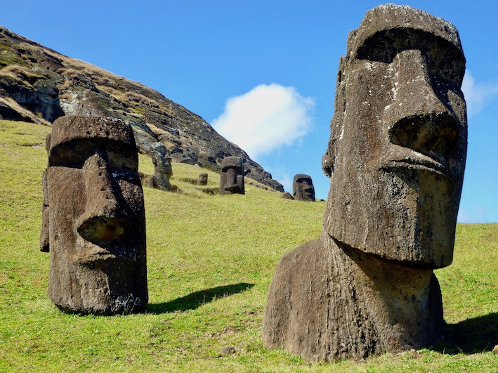 Moai, Ile de Paques