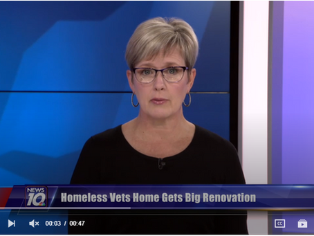 Homeless vets home gets big renovation