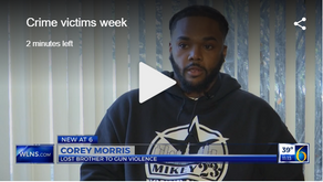 """WLNS: """"Family shares story in light of National Crime Victims' Rights Week"""""""