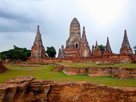 Temple, Thailande
