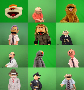 Assorted Puppets