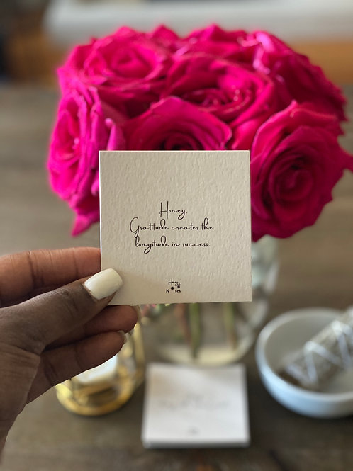 Honey Notes: Goal-Getter Edition