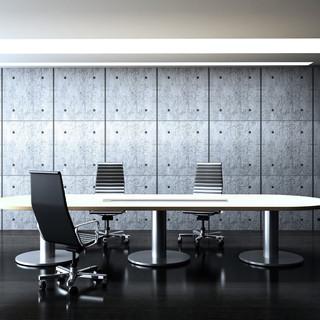 Встроенный трек Eubiq в переговорной комнате