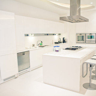 Накладной трек Eubiq на кухне