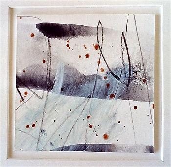 Abstract miniatuur - Leni van Santen