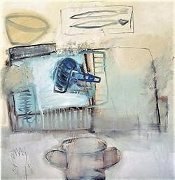 Voorwerpen in het atelier