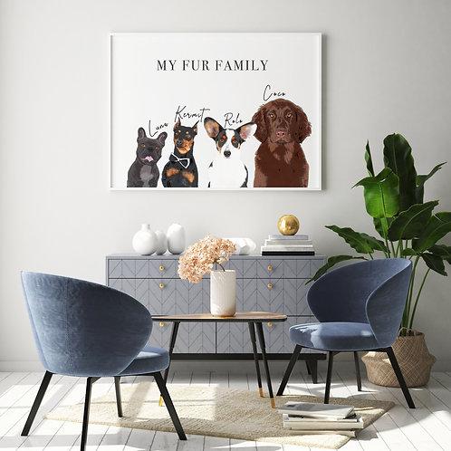 Multiple Pets (fur families)