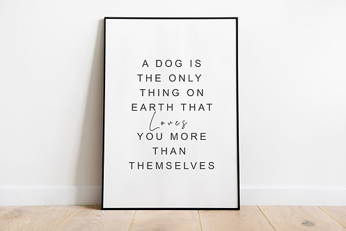Dog Love Quote