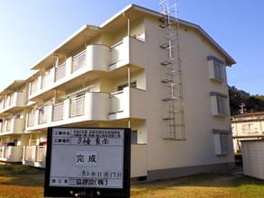 集合住宅 外壁・屋上防水工事2