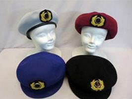 女性タクシー制帽(オーダー帽子)