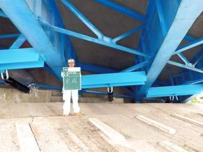 落橋防止工事1