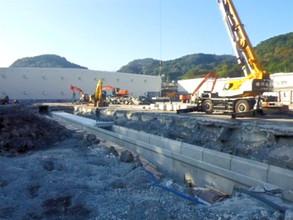 排水路改修工事