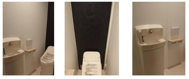 プレハブトイレ新設
