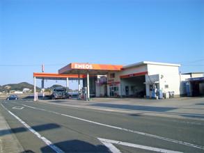 ガソリンスタンド新築工事(鉄骨造2階建)