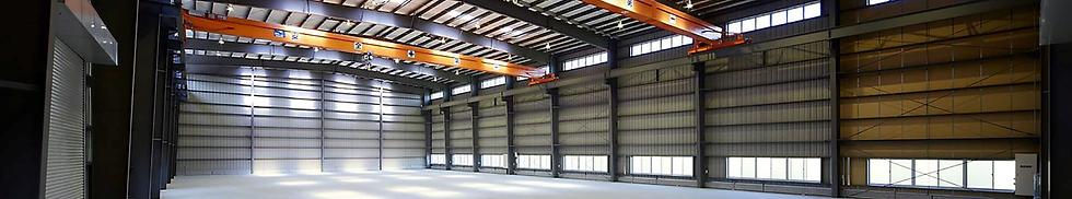 yess建築による大型倉庫