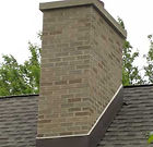 chimney being rebuilt in Arlington Heights Illinois