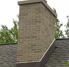 chimney being rebuilt in Arlington Heights Illinois