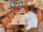 東京ドームムーミンカフェ.JPG