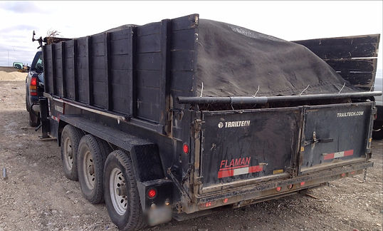 Junk To Go, Junk Removal Winnipeg, Garbage Truck, Dump trailer, dump truck, Garbage Removal, Bin service, dumpster, container