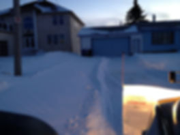 residential snow clearing