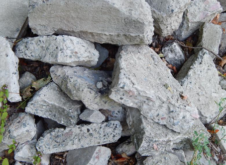 Where does my old concrete/masonry material go?