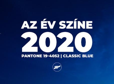 2020 - Az év színe: Pantone Classic Blue