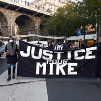 Justice for Mike, Lausanne, 2020