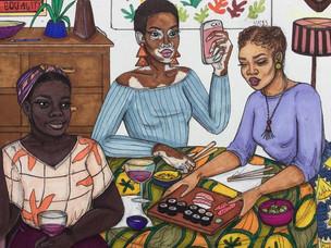 Ben Biayenda's Illustrations On Blackness