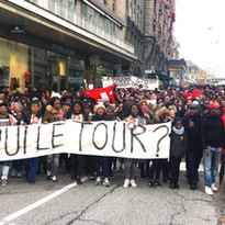 Justice for Hervé Mandundu, 2016, Lausan