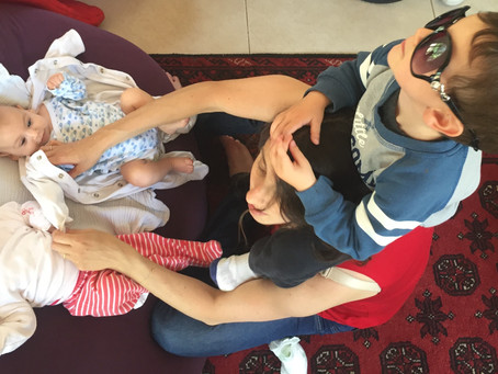 Hands Full: Parenting 1 + Twins