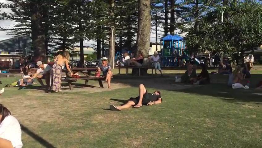 Chilling In Byron Bay