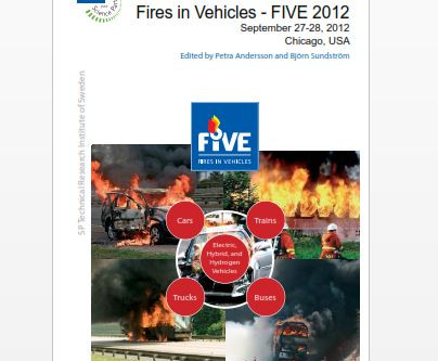 """FIVE 2012 Conference- """"Parking Brake Fires"""" Paper by Kerry Parrott and Douglas Stahl Published"""