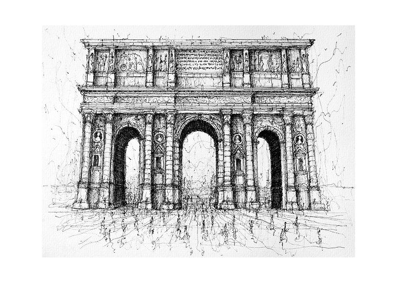 Porte de Mars - Reims