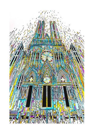Envol Reims 2033 - Cathédrale Bleue