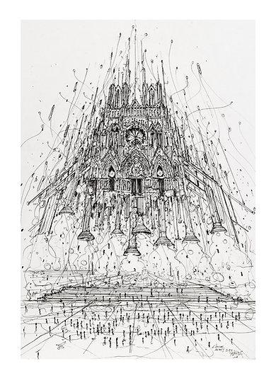 Envol Reims 2033 - Cathédrale