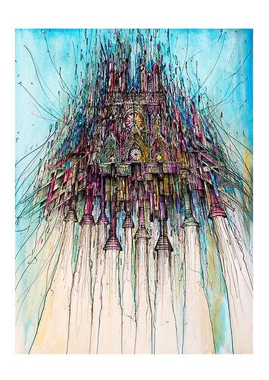 Envol Reims 2033 - Cathédrale Color