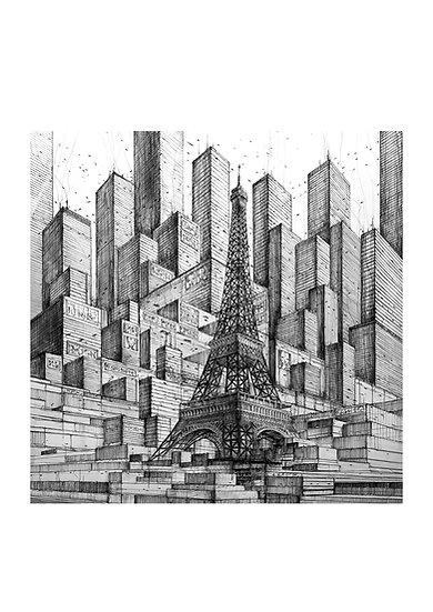 Paris 2099 - Tour Eiffel