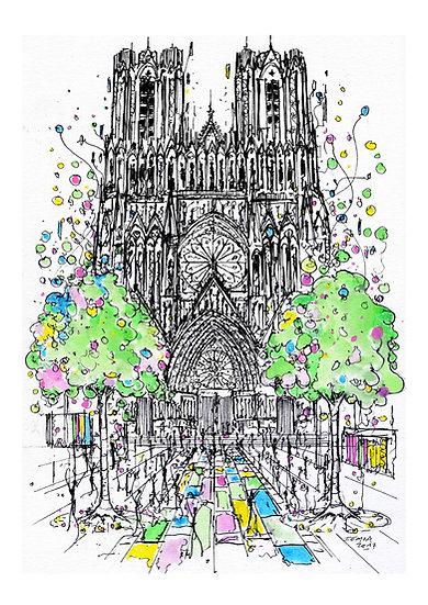 Notre Dame de Reims - Célébration
