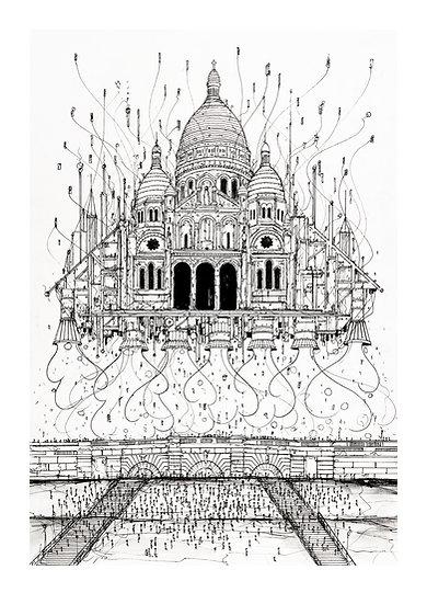 Envol Paris 2033 - Montmartre