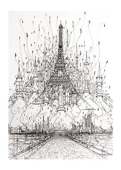 Envol Paris 2033 - Tour Eiffel