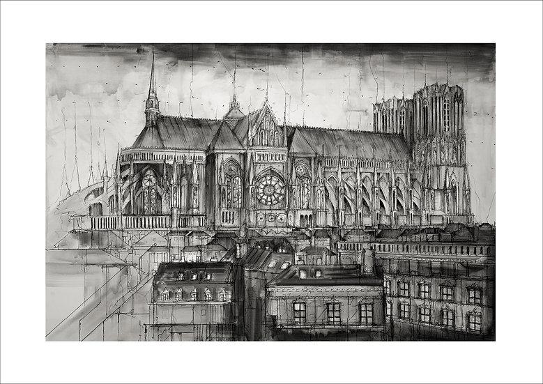 Coté Cathédrale - Reims