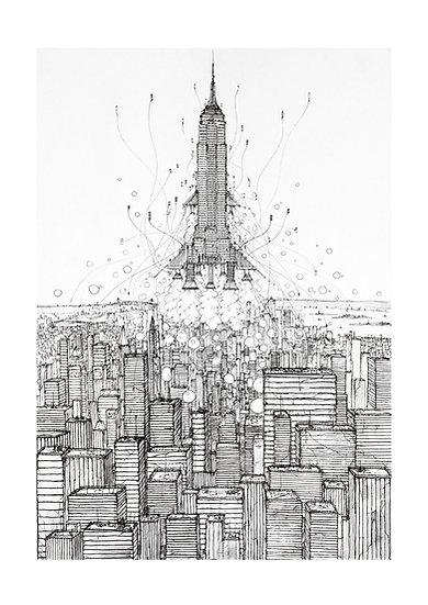 Envol  New York 2033 - Empire State Building