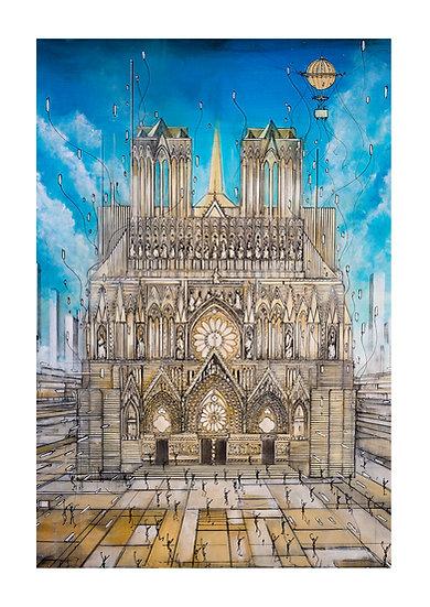 Notre Dame de Reims - Old