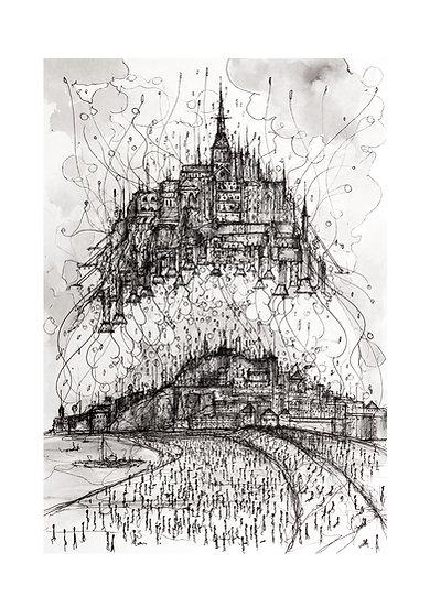 Envol Mont Saint-Michel 2033