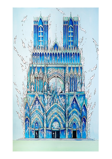 Notre Dame de Reims - Dancing Queen