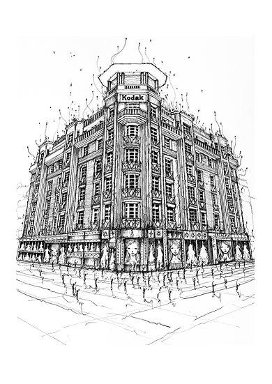 Immeuble Kodak -Dentelle