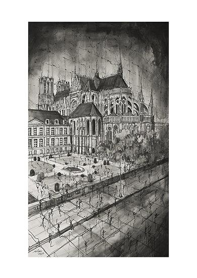 Chevet de la Cathédrale - Reims