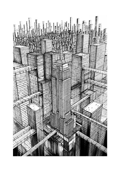New York 2099 - Empire State Building